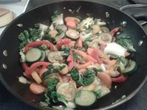 vegetables stir fry healthy
