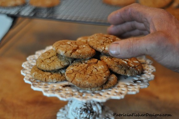 spice crackle cookies