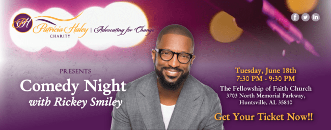Patricia Haley Charity Comedy Night with Rickey Smiley