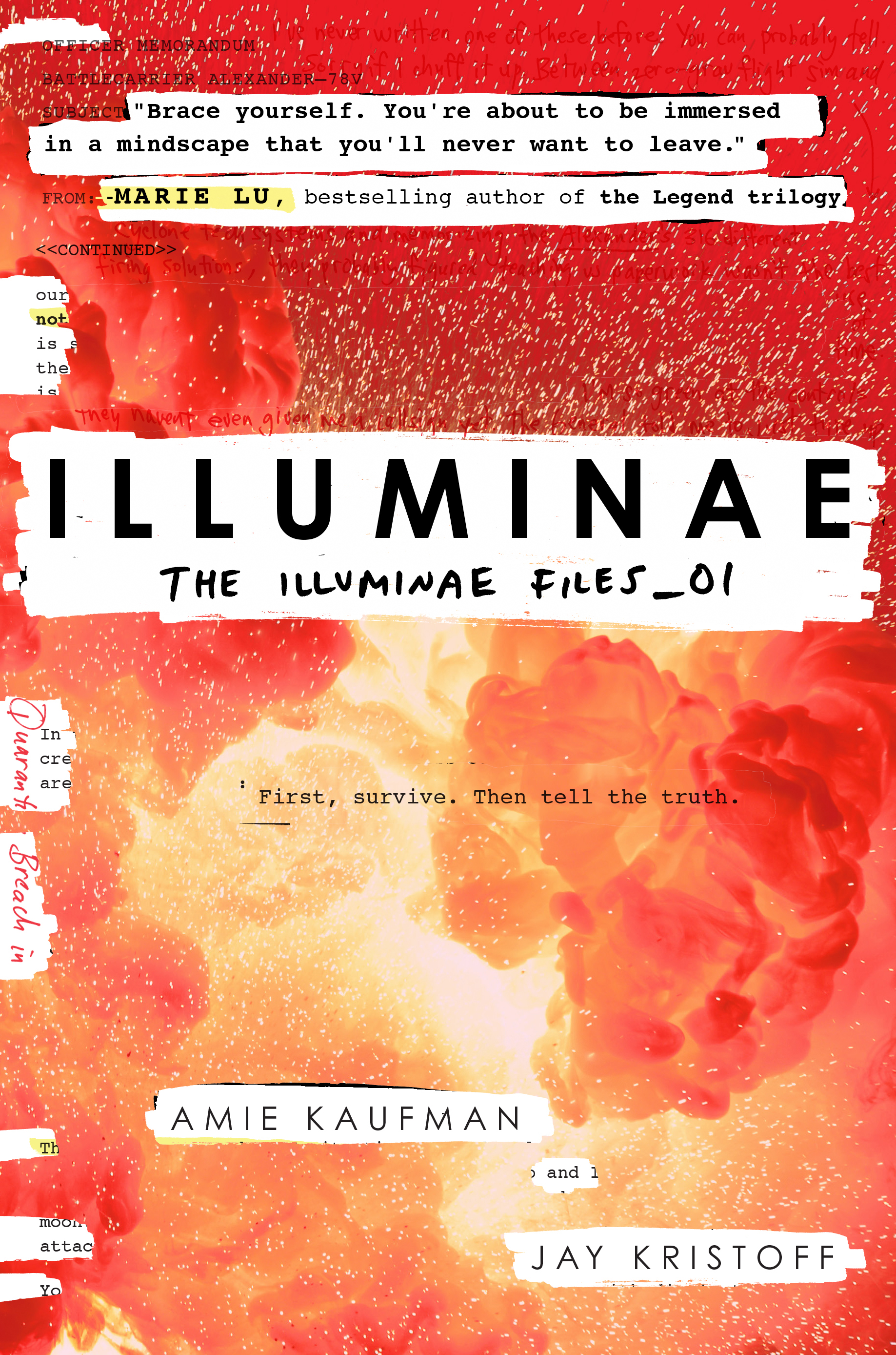 Image result for illuminae amie kaufman jay kristoff