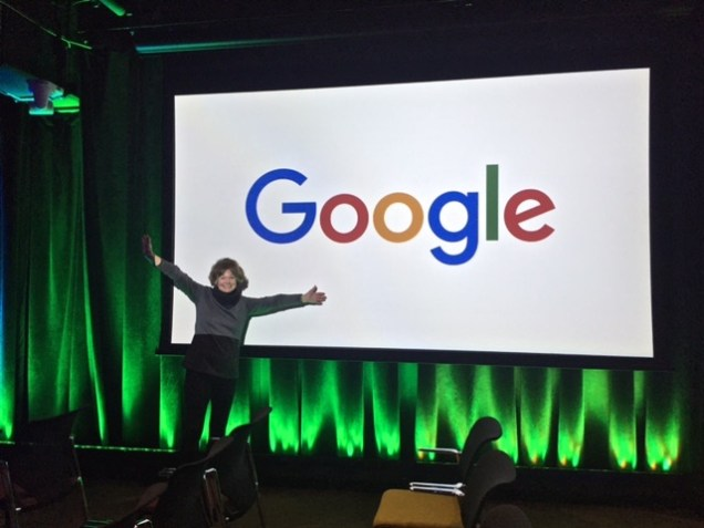 me & Google sign 2017