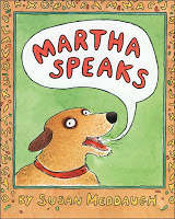#PictureBookMonth Theme: Pets :|: Read Martha Speaks by Susan Meddaugh