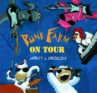 #PictureBookMonth Theme: Chickens :|: Read Punk Farm On Tour by Jarrett Krosoczka