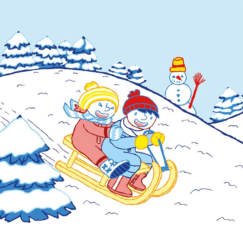 Bilderbuch Frieda und Markus Durch das Jahr Januar