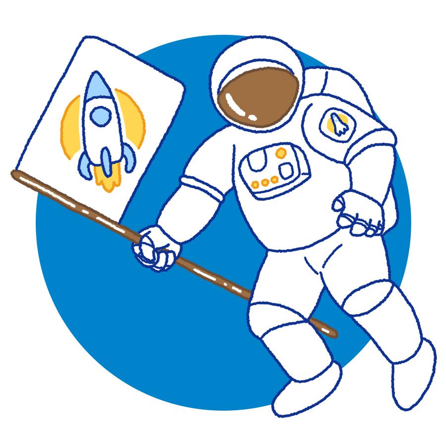 Surface Design Astronaut