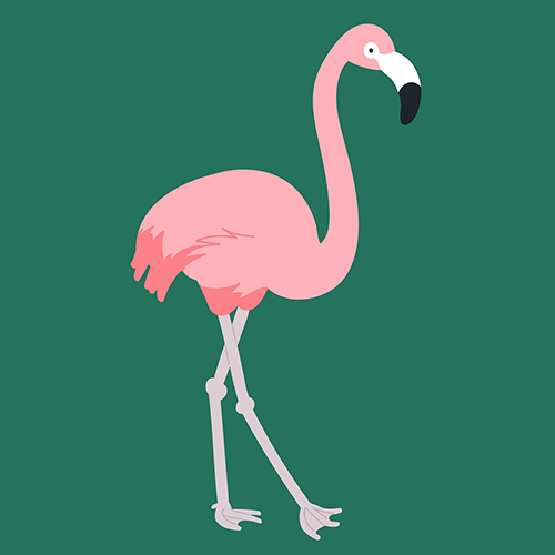Surface Design Flamingos 2