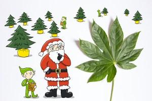 Weihnachten als Geschäft Kreativ Challange Tag 1 Weihnachtsbaum