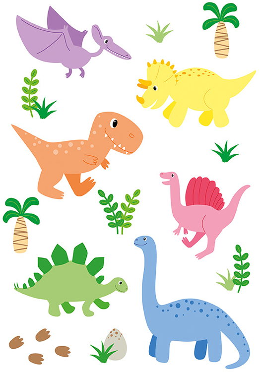 Sympathie Figuren Dinosauerier Patricia Oettel Illustration