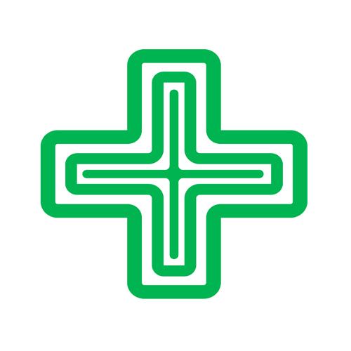 Pharmazie Grafik Hausapotheke international Symbol Gesundheit