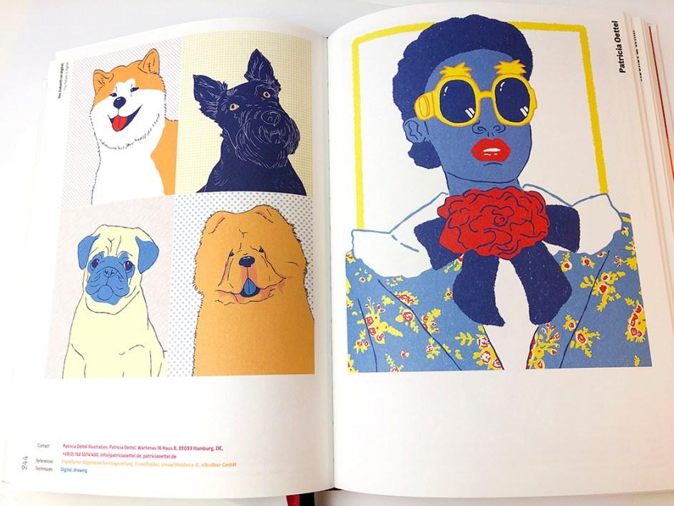 Freistil 7 Innenseiten Patricia Oettel Illustration