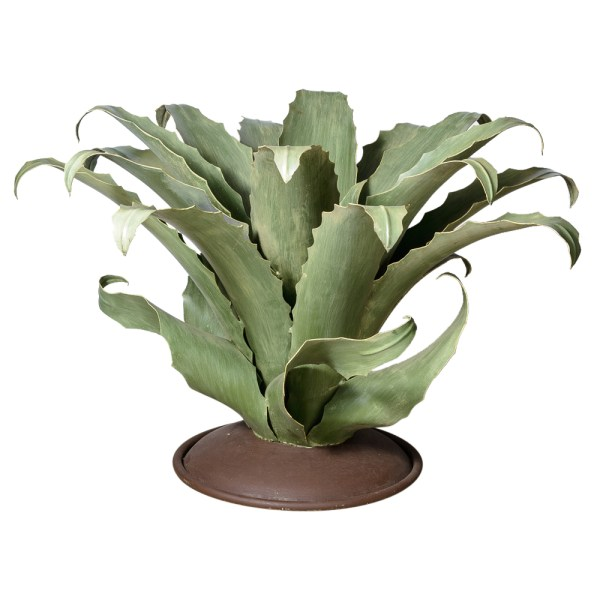 Agave Cactus Metal Table Base Huge Indoor Outdoor
