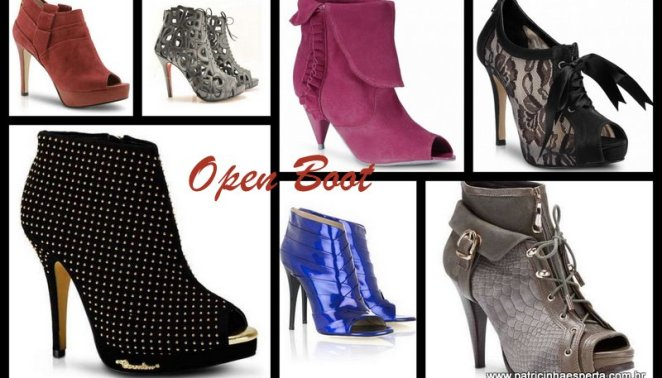 Blog 231 1 - Como usar Ankle Boot, Summer Boot e Open Boot
