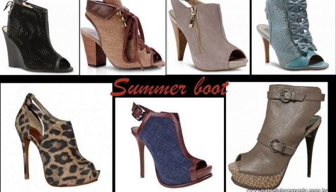 Blog 233 - Como usar Ankle Boot, Summer Boot e Open Boot