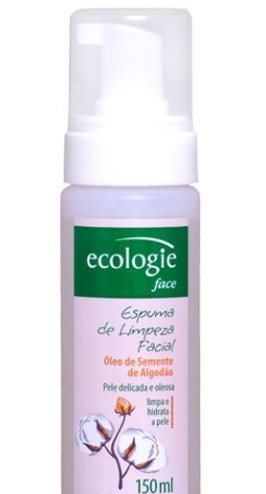 Espuma - Testei - Espuma de Limpeza Facial Ecologie