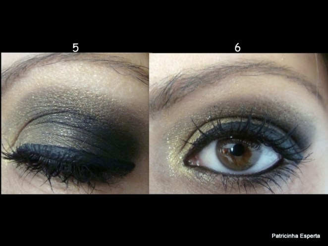 2011 08 261 - Tutorial: Make Dourado com Preto Star