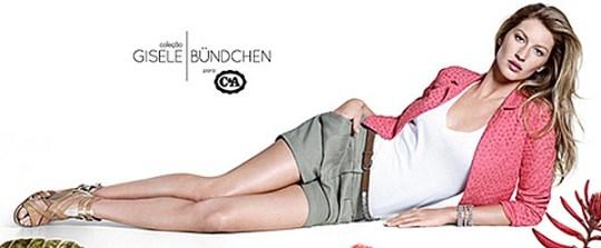 coleao gisele cea thumb1 - Coleção Gisele Bundchen para C&A