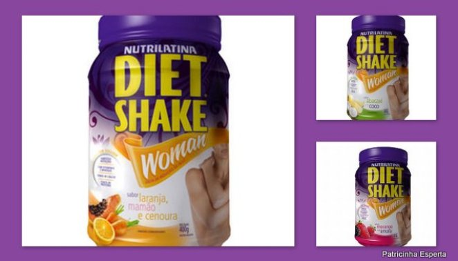 Blog721 - Diet Shake Woman