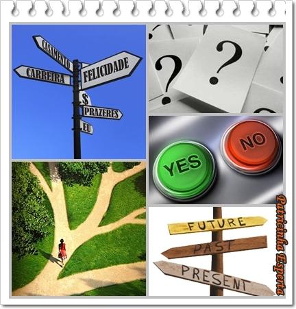 1 - As escolhas que fazemos