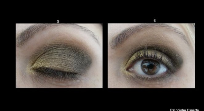 2011 10 084 - Tutorial: Make Dourado com  Glitter