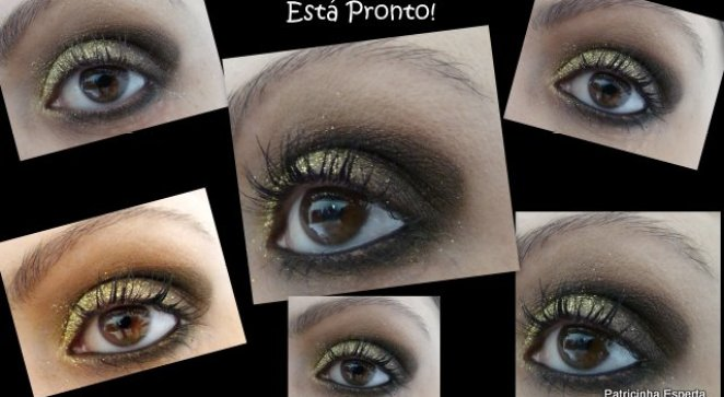 2011 10 086 - Tutorial: Make Dourado com  Glitter
