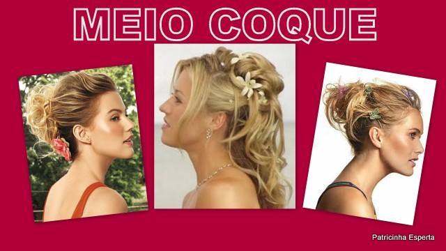 Cabelos4 - COQUE - A moda nos Cabelos!!!