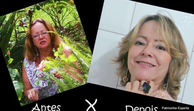 2011 11 0121 - Antes e Depois: Deixando a Mãe Bonita!