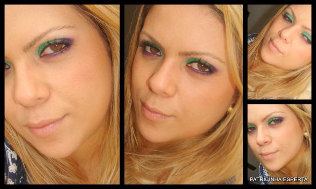 2011 11 200 - Tutorial: Roxo e Verde