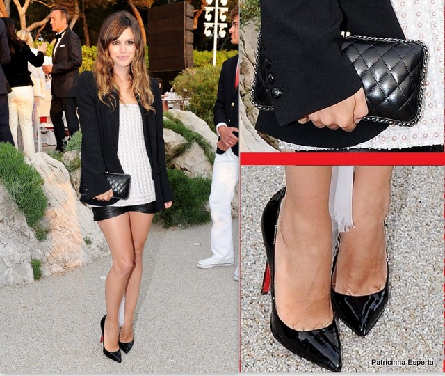 Rachel Bilson6 - LOOK DO DIA - Short de Couro e Blazer