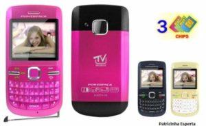 1305381972 161466421 1 Fotos de MP 25 Celular 3 CHIPS e TV ROSA PRETO modeo c3 300x184 - O uso do celular