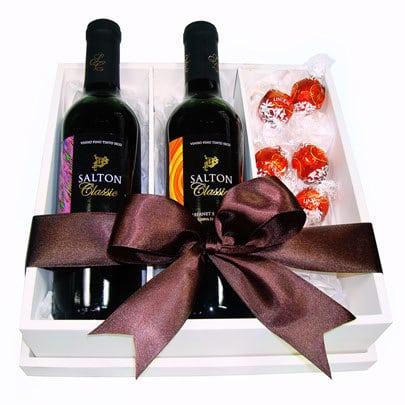 Bebidas e chocolates... - Presentes de Natal é na Giuliana Flores