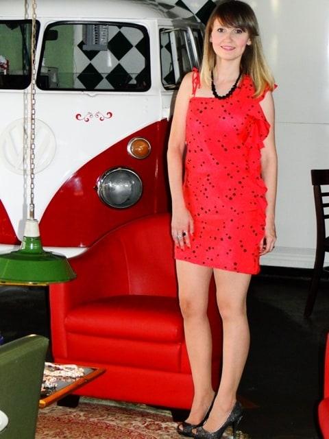 Vestido estrela 01 - Adriana Antunes - Fique Linda para no Natal e Ano Novo...
