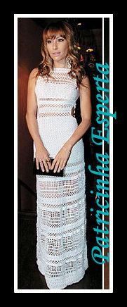 sabrina sato vitoria frate sarah jessica parker anne hathaway vestido renda croche - Top 10 - As Mais bem vestidas de 2011