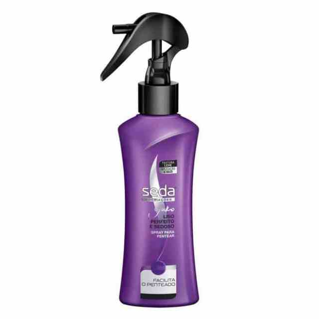 670316 Ampliada - Spray Para Pentear  SEDA Liso Perfeito e Sedoso