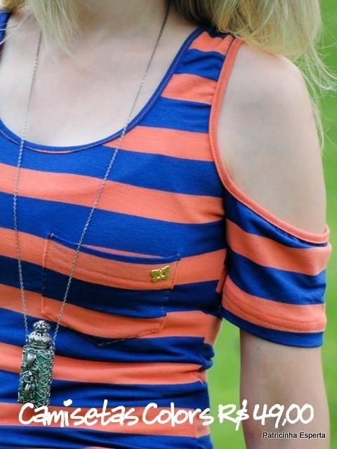 Camiseta Color 10 - LIQUIDA - Regata e Camiseta a partir de R$ 39,00