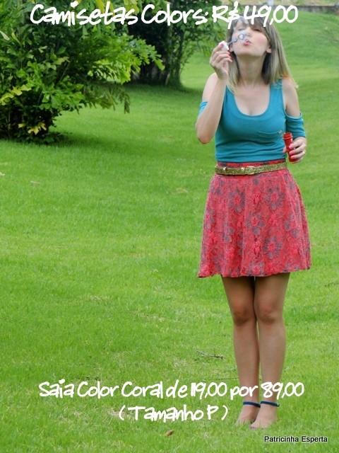 Camiseta Color 14 - LIQUIDA - Regata e Camiseta a partir de R$ 39,00