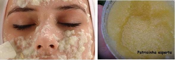 ESFOLI1 - Receitinhas caseiras para a pele