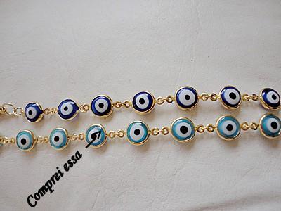 pulseira de olho grego corrigida - Pulseira de olho grego
