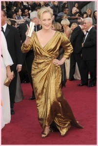 Meryl Streep 201x300 - Oscar 2012 - Look das celebrities