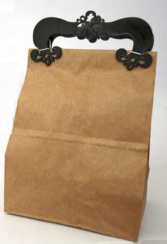 sacola de compras - Moda até na sacola de mercado...