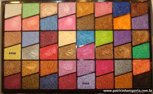 046post1 - Tutorial - Maquiagem lilás com delineado preto e dourado (glitter)