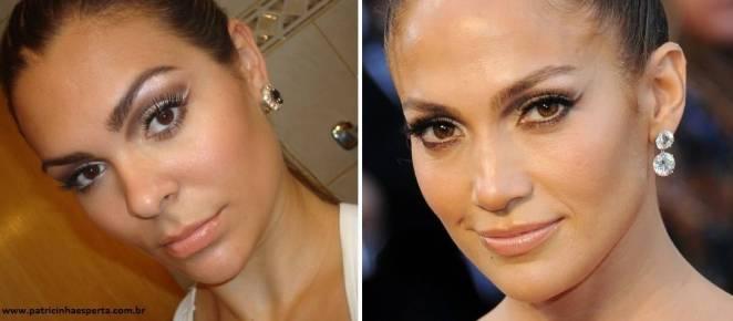 069post3 - Tutorial - Maquiagem inspirada na atriz Jennifer Lopez - Oscar 2012