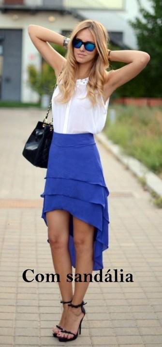 com sandalia - Super moda: Mullet Skirt e Mullet Dress