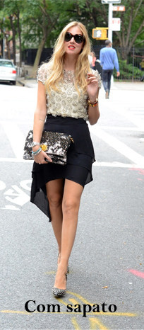 com sapato - Super moda: Mullet Skirt e Mullet Dress