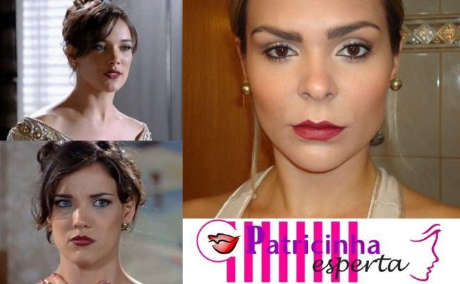 post2 - Maquiagem inspirada na atriz Adriana Birolli (Patrícia de Estampa Fina)