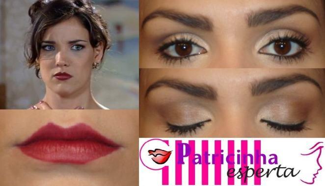 post3 - Maquiagem inspirada na atriz Adriana Birolli (Patrícia de Estampa Fina)