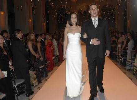 wanessa camargo casamento - Os vestidos de noiva das famosas (parte 1)