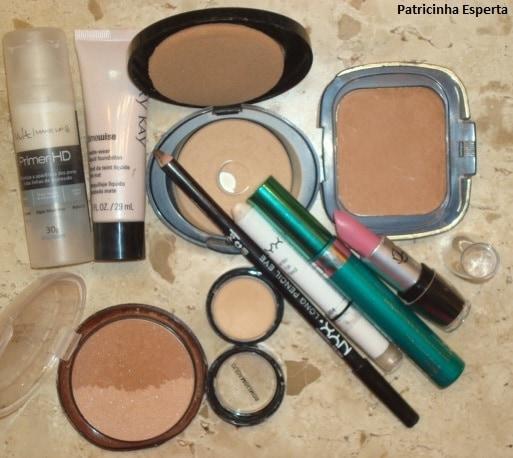 002post - Maquiagem para a noite: Turquesa / Chumbo / Preto