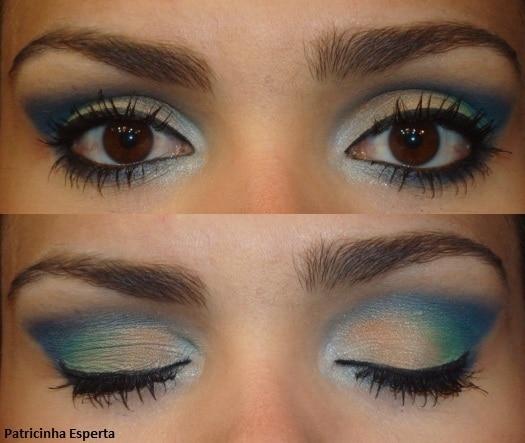 034.post  - Maquiagem Colorida para noite