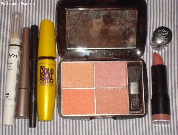 045post - Maquiagem Colorida para o Outono (Mostarda e Uva)