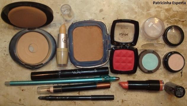 052post - Maquiagem colorida para o dia - Testando lápis sombra Avon + lápis colorido Ruby Rose